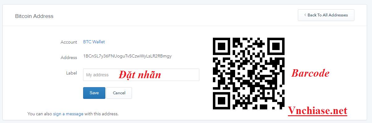 Tạo nhiều địa chỉ Bitcoin/Ethereum Coinbase