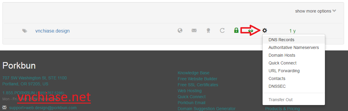 free .design domain name 1 year