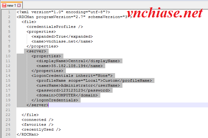 Vnchiase.net - Hướng dẫn quản lý nhiều VPS