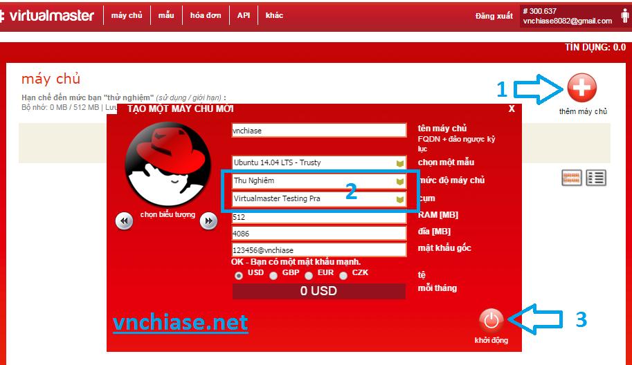 vps linux miễn phí